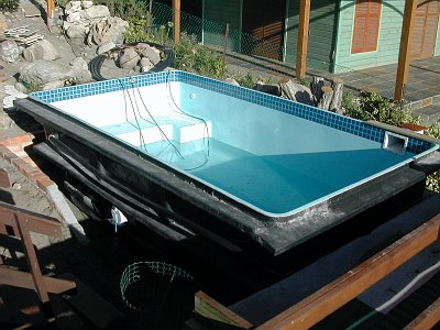 Complete freestanding pool installation process horizon Fibreglass pools vs concrete pools