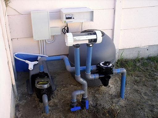 Swimming pool pumps pool filters cape town horizon pools for Obi filtersand pool