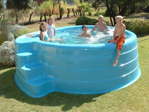 Above ground pools free standing horizon pools for Above ground fiberglass pools