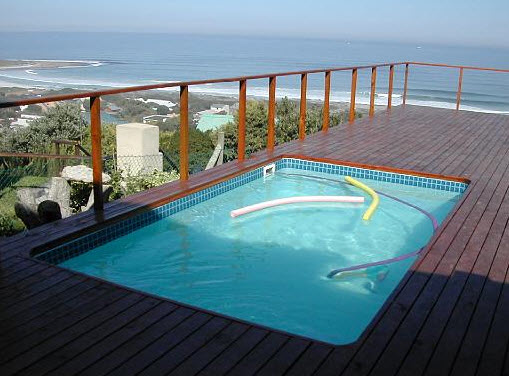 freestanding fibreglass pools