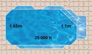 Mirage Pool Shape