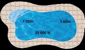Montego Pool Shape