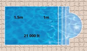 Neptune Bay Pool Shape
