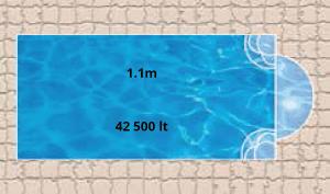 Sahara Bay Pool Shape