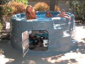 free standing pools