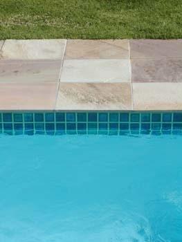 Plain brick paving
