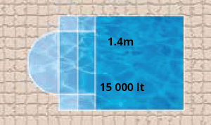 Cameo Bay Pool Shape