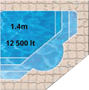 Manor Bay Pool Shape