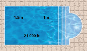 Neptune Bay Pool Shape