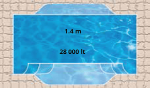 Sundowner Pool Shape