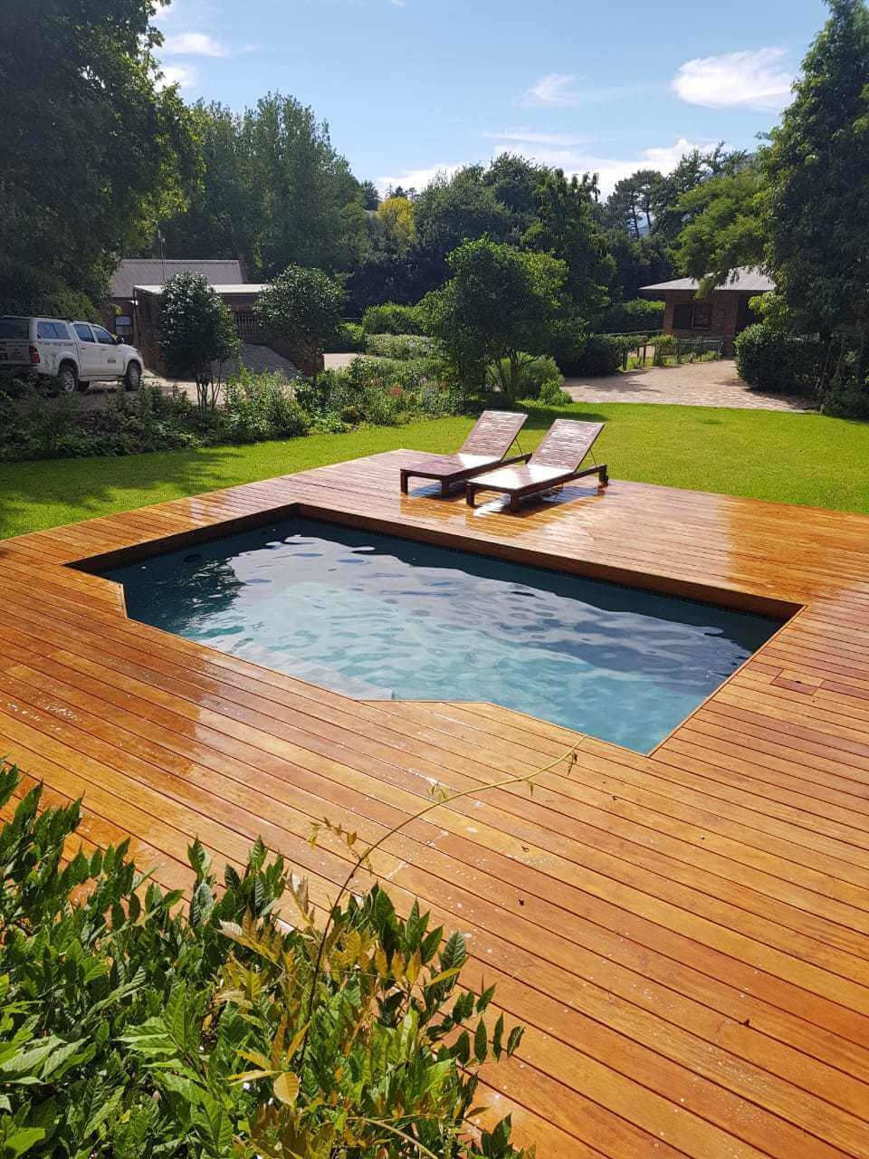 Somerset with decking